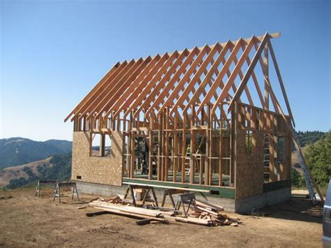 house frame ca mountain cabin