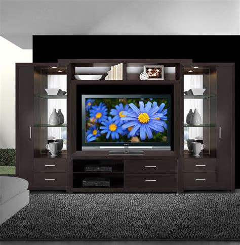 entertainment center with lights crystal entertainment center glass shelves accent
