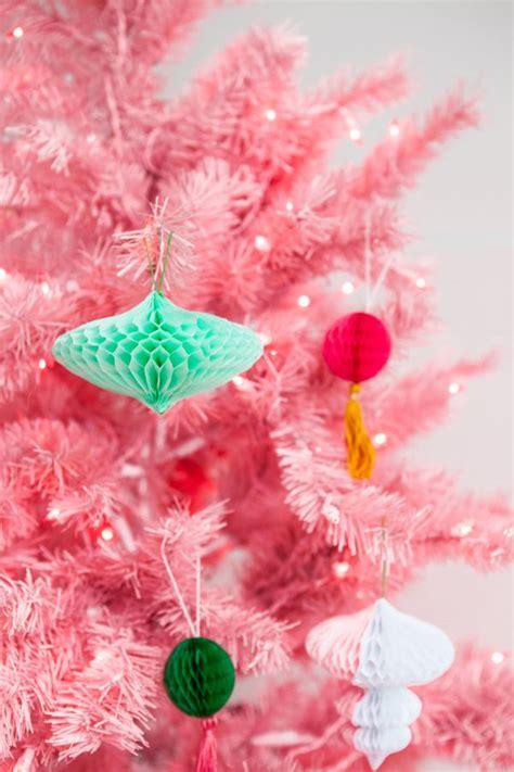 large honeycomb tassel ornament diy christmas diy honeycomb ornaments oh happy day bloglovin
