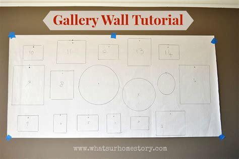 ten walls tutorial creating a gallery wall beneath my heart