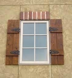 blue shutters window:  images about shutters on pinterest exterior shutters custom