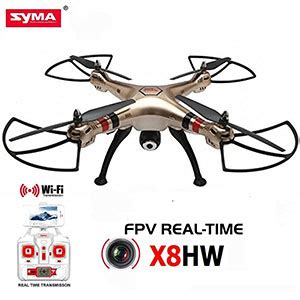 drone quadcopter syma x8hw fpv wifi avec 233 ra hd 720p