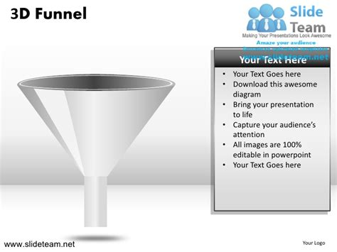 powerpoint template funnel 3d sales funnel powerpoint ppt templates