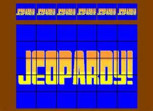 image gallery jeopardy board
