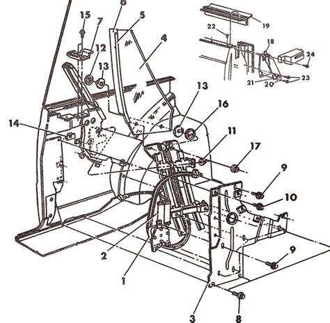 power window parts diagram dodge 600es convertible rear window regulator gear replacement