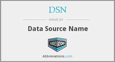 us dsn area code what does dsn stand for