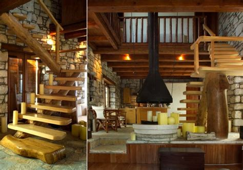 stone house interior awesome traditional stone house in pelion greece decoholic