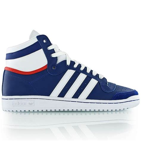 Adidas Blue List White adidas top ten hi royal blue white