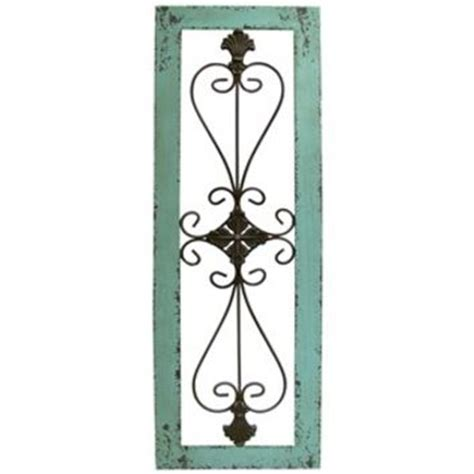 Metal Wall Decor Hobby Lobby turquoise framed metal wall decor shop from hobby lobby