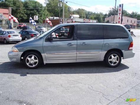 2000 medium steel blue metallic ford windstar sel