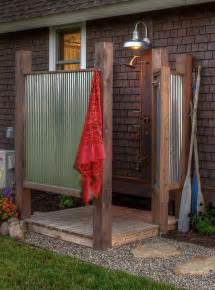 Camper Kitchen Faucet 30 Cool Outdoor Showers To Spice Up Your Backyard