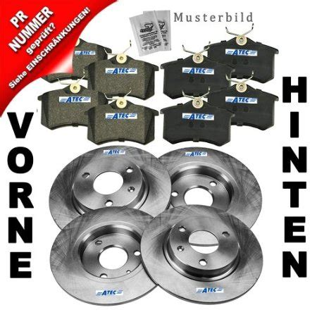 audi a3 brake discs and pads buy 4x brake discs brake pads front and rear axle audi