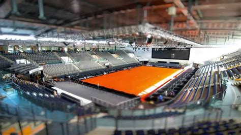 Porsche Tennis Grand Prix by Laying The Clay Court Porsche Tennis Grand Prix 2013