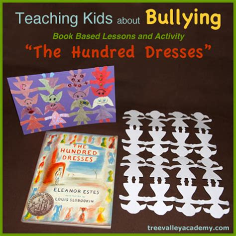 a hundred small lessons books the hundred dresses teaching about bullying