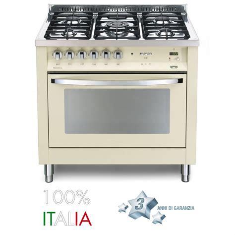 elettrodomestici cucina a gas lofra cucina rainbow 90 avorio 5 fuochi forno a gas