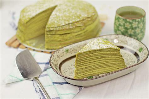 Mille Crepes Cake matcha mille crepe cake 抹茶ミルクレープの作り方