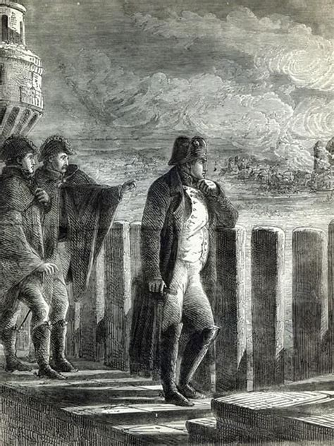 napoleon bonaparte biography in english napoleon watching the fire of moscow in 1812 engraving