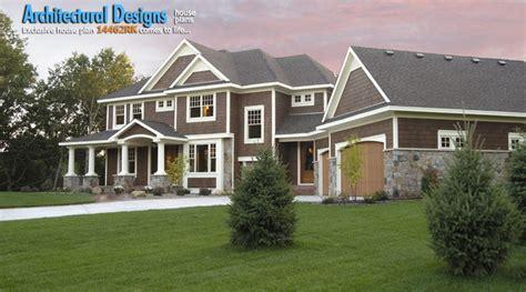 exclusive house plans exclusive house plan 14462rk craftsman exterior