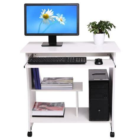 ordinateur de bureau cdiscount table bureau ordinateur 233 tude clavier tablette achat