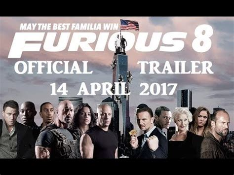 fast and furious 8 official trailer 2017 fast and furious 8 official trailer 2017 hd youtube
