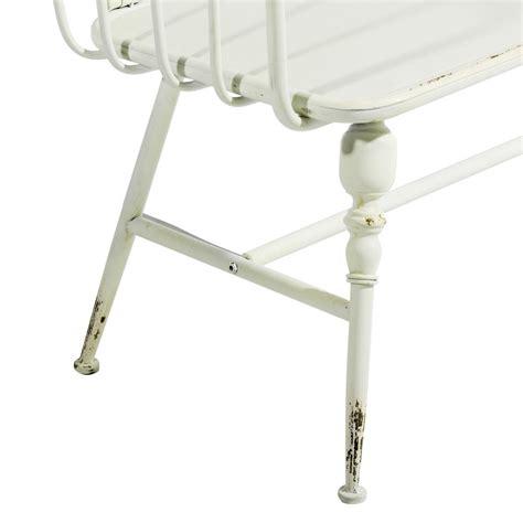 panchina ferro panchina provenzale ferro bianco mobili provenzali giardino