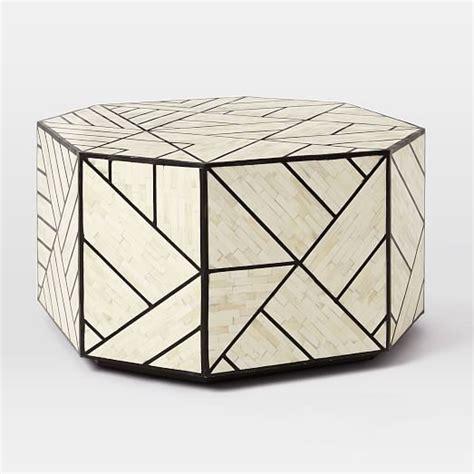 bone inlaid coffee table west elm