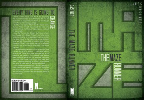book report on maze runner book cover redesign on behance