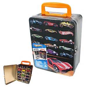 Hot Wheels 18 Car Vintage Tin Carry Case   Neat Oh!   Hot