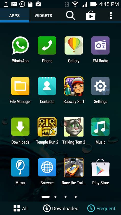 screenshot on android september 2014