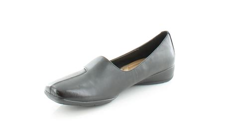 naturalizer  ryber black womens shoes size   flats msrp  ebay