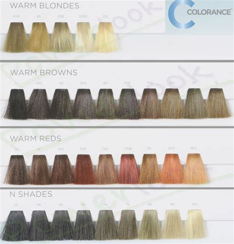 goldwell hair color chart goldwell farba colorance promieniste kolory w delikatny