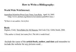 best photos of how to write a bibliography page what