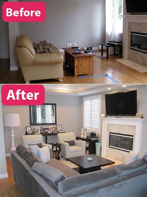 before and after decor gorgeous living room decor and design ideas remodelling