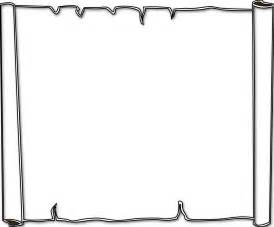 parchment background border black white line art coloring cool borders design page designs clipartsco