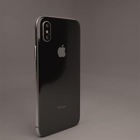 iphone x 3d model turbosquid 1210122