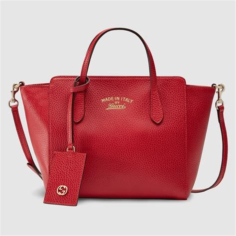 Gucci Mini Bag Dcg418 1 gucci swing leather mini bag in leather lyst