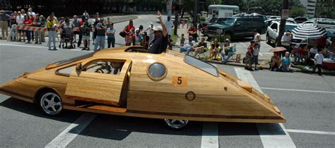 real futuristic cars timber kings create log on wheels name it the cedar