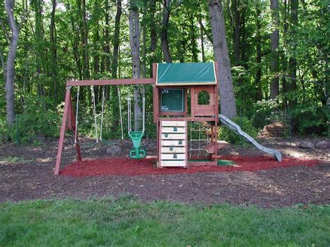 swingset designs big backyard pine ridge iii swing set