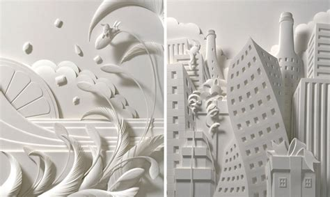 How To Make Paper Sculptures At Home - with relief paper sculpture artist jeff