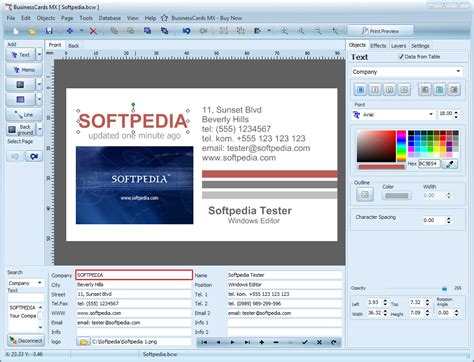 Templates For Businesscards Mx | mojosoft businesscards mx templates