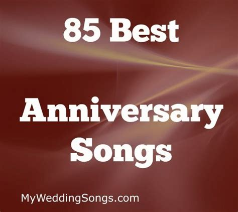 wedding anniversary songs list 193 best anniversaries images on anniversary
