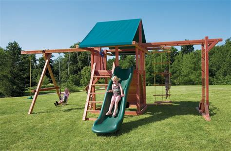 stand alone monkey bars for backyard wood outdoor play structures pot o gold with monkey bars