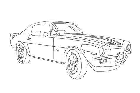 camaro coloring page az coloring pages