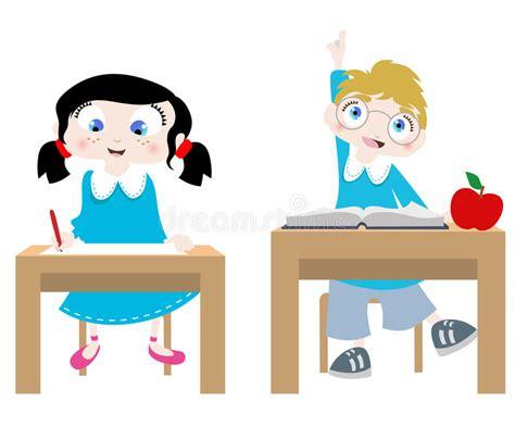 imagenes animadas estudiando estudiar personajes de dibujos animados ilustraci 243 n del