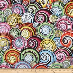 designer fabrics kaffe fassett spiral shells multi discount designer