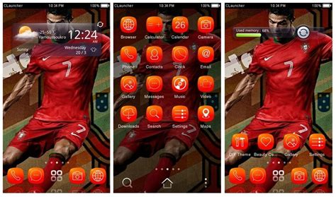 themes ronaldo android download cristiano ronaldo android theme for smartphones