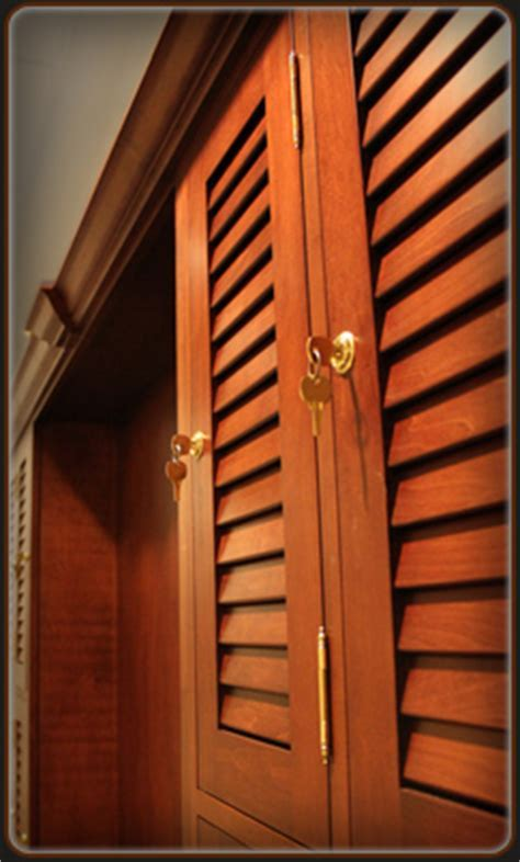 Custom Engineered Louvered Cabinet Doors for Kitchen