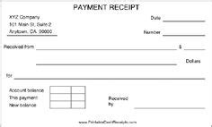 layaway payment receipt templates free printable template restaurant menus simple menu