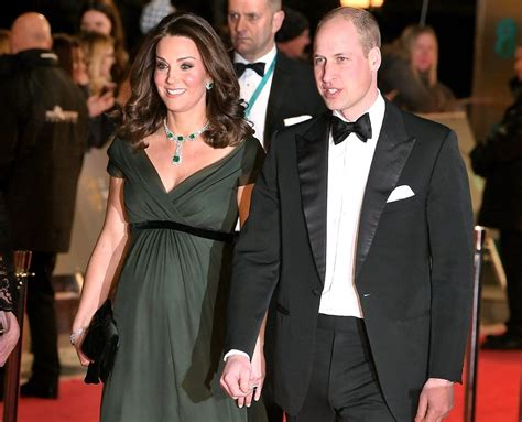 william and kate prince william and kate middleton at the bafta awards 2018