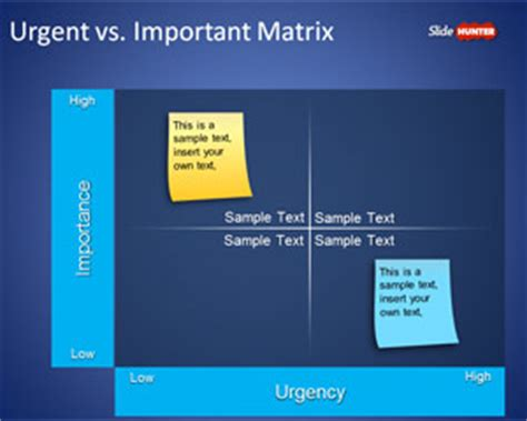 free prioritization matrix powerpoint template free